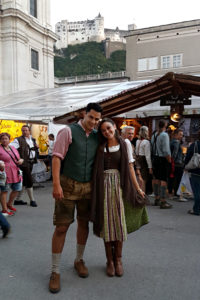 Surviving Europe: St. Rupert's Fair The Biggest Traditional Festival in Salzburg - Dressed Up