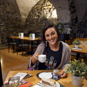 Surviving Europe: Discovering Schloss Goldegg A Castle in Salzburg Austria - Cafe