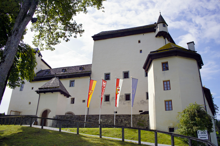 Surviving Europe: Discovering Schloss Goldegg A Castle in Salzburg Austria - Goldegg