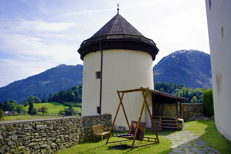 Surviving Europe: Discovering Schloss Goldegg A Castle in Salzburg Austria - Tower