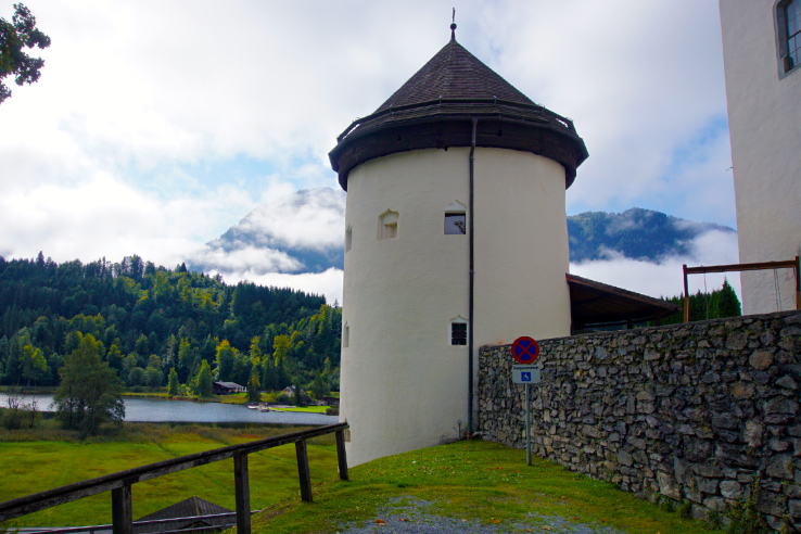 Surviving Europe: Discovering Schloss Goldegg A Castle in Salzburg Austria - Goldegg Tower