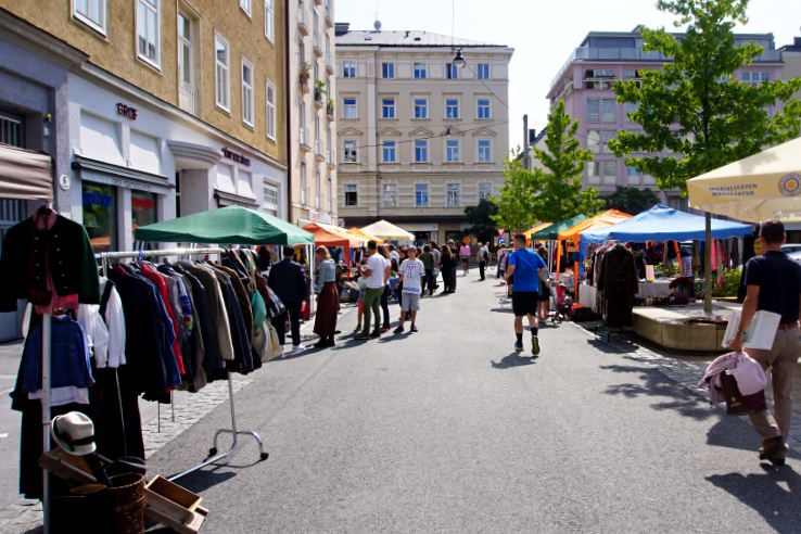 Surviving Europe: Flohmarkt Treasures Finding Flea Markets in Austria - Salzburg Flea Market