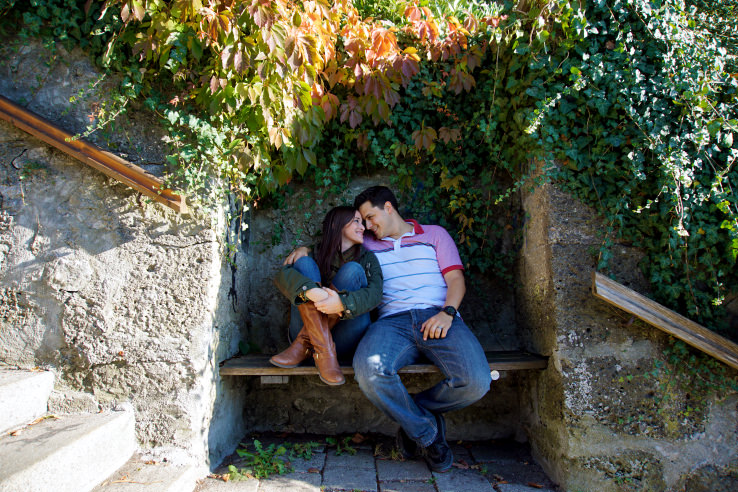 Surviving Europe: Moving Back - Buying Our Return Flight to a New Adventure - Cuddling in Salzburg