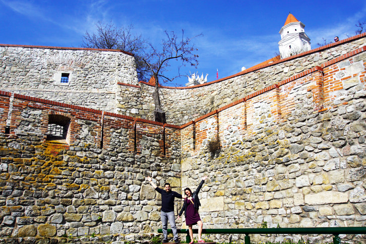Surviving Europe: Moving Back - Buying Our Return Flight to a New Adventure - Bratislava Castle