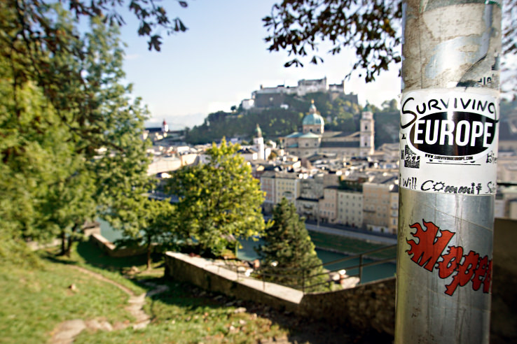Surviving Europe: Moving Back - Buying Our Return Flight to a New Adventure - Salzburg Castle